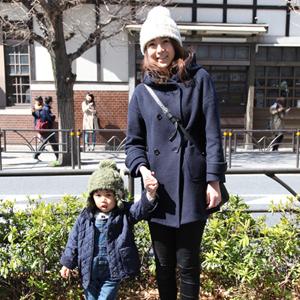【撮影日:03/12,撮影場所:表参道】けいちんさん・いっけいくん(2歳)・好きな親子スポット:公園