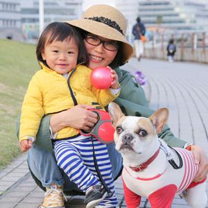 【撮影日:04/09,撮影場所:横浜】ひろちゃん(1歳)