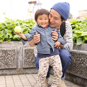 【撮影日:04/29,撮影場所:横浜】尭央さん・樹くん(2歳)