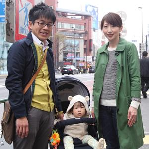 【撮影日:04/03,撮影場所:表参道】なのはちゃん(1歳)