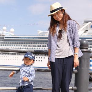 【撮影日:05/07,撮影場所:横浜】沙希さん・海音くん(1歳)・好きな親子スポット:公園