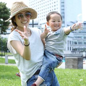 【撮影日:05/21,撮影場所:横浜】匡美さん・忠宜くん(2歳)