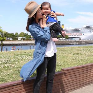 【撮影日:05/22,撮影場所:横浜】智穂さん・翔くん(5歳)・好きな親子スポット:グランツリー