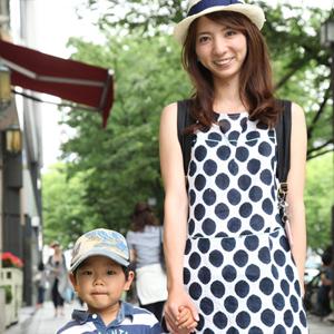 【撮影日:05/15,撮影場所:表参道】ゆかさん・あっくん(3歳)