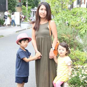 【撮影日:05/25,撮影場所:表参道】こたろうくん(5歳)・いちのちゃん(3歳)