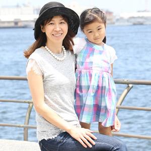 【撮影日:06/07,撮影場所:横浜】真紀子さん・有莉ちゃん(4歳)・好きな親子スポット:ズーラシア