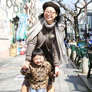 【撮影日:03/12,撮影場所:自由が丘】たいちゃん(5歳)
