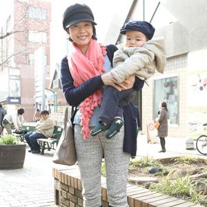 【撮影日:03/15,撮影場所:自由が丘】チェッチェくん(8か月)