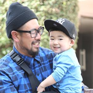 【撮影日:03/22,撮影場所:表参道】慎さん・岳くん(2歳)・好きな親子スポット:雪山、中根公園