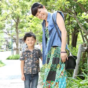 【撮影日:06/25,撮影場所:武蔵小杉】ママ・ゆるぎくん(5歳)