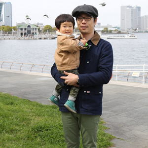 【撮影日:04/12,撮影場所:横浜】求夢さん・友朗くん(1歳8ヵ月)