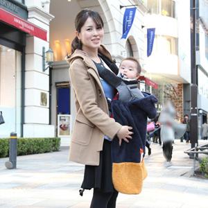【撮影日:03/02,撮影場所:表参道】あすかさん・れおくん(0歳)