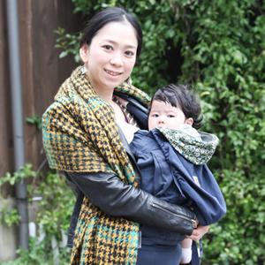 【撮影日:03/20,撮影場所:表参道】ゆりこさん・ななみちゃん(0歳)