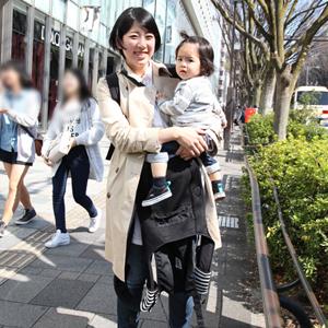 【撮影日:04/02,撮影場所:表参道】かんたママさん・かんたくん(1歳)・好きな親子スポット:青山・表参道