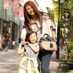 【撮影日:07/17,撮影場所:表参道】舞さん・優里菜ちゃん(5歳)