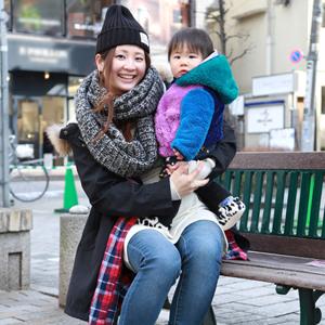 【撮影日:01/28,撮影場所:自由が丘】kayoさん・kohtaくん(0歳)・好きな親子スポット:横浜