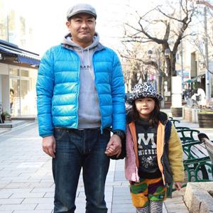 【撮影日:02/03,撮影場所:自由が丘】イッショウさん・MiNaMiちゃん(5歳)・好きな親子スポット:ゲームセンター