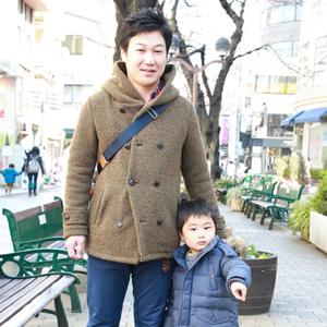 【撮影日:02/04,撮影場所:自由が丘】結人くん(3歳)・好きな親子スポット:公園