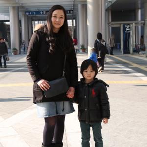 【撮影日:02/12,撮影場所:二子玉川】Shaw君(4歳)