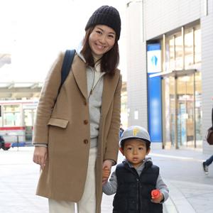 【撮影日:02/12,撮影場所:二子玉川】そうすけくん(2歳)
