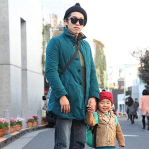 【撮影日:01/31,撮影場所:表参道】よういちさん・とーりくん・好きな親子スポット:電車見に行く