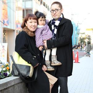【撮影日:02/03,撮影場所:表参道】れあちゃん(2歳)