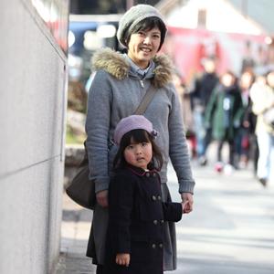 【撮影日:02/09,撮影場所:表参道】なおこさん・あんちゃん(4歳)・好きな親子スポット:横浜みなとみらい