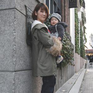 【撮影日:02/11,撮影場所:表参道】MDRさん・OSKくん(1歳)・好きな親子スポット:代々木公園