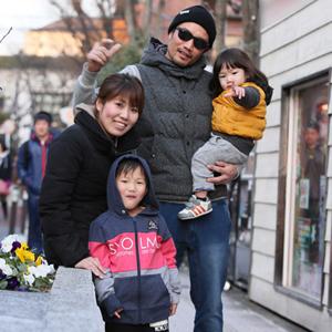 【撮影日:02/11,撮影場所:表参道】はるるくん(4歳)・そーまんくん(2歳)