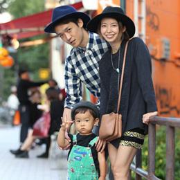 【撮影日:10/13,撮影場所:表参道】淳さん・絢子さん・とあくん(2歳)・好きな親子スポット:ニコニコパーク