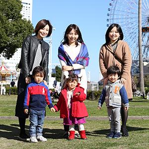 【撮影日:2015/11/27 撮影場所:横浜】あやちゃん(2歳)
