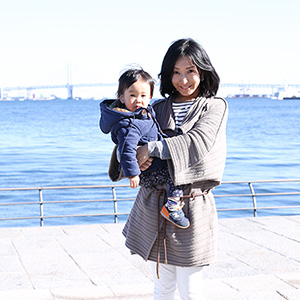 【撮影日:2015/11/27 撮影場所:横浜】こうたろうくん(1歳)