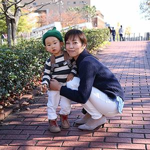 【撮影日:2015/11/28 撮影場所:横浜】ゆうちゃん(2歳)・あまくん・はるくん(2歳)
